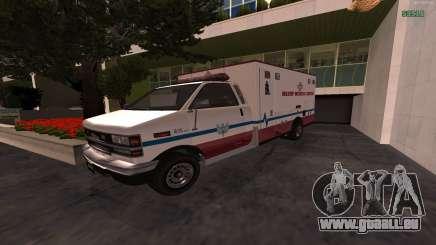 MGCRP AMBULANCE Mod pour GTA San Andreas