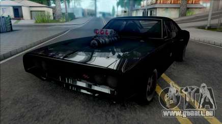 Dodge Charger RT Furious 7 (SA Lights) pour GTA San Andreas