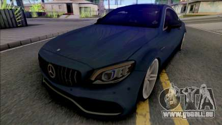 Mercedes-AMG C63s Coupe 2021 für GTA San Andreas