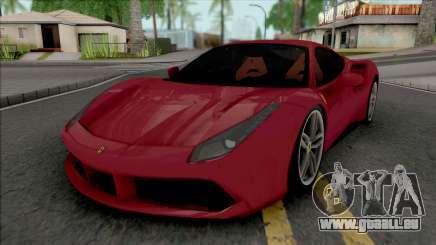 Ferrari 488 GTB Red pour GTA San Andreas