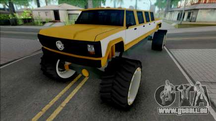 Monster A Lifted Truck pour GTA San Andreas