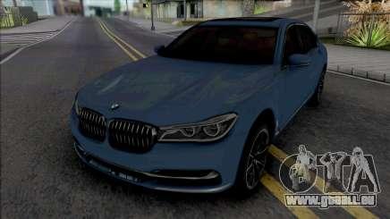 BMW 750Li 2016 pour GTA San Andreas