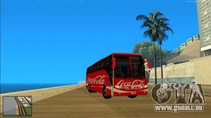 Coca Cola Volvo Bus Mod pour GTA San Andreas