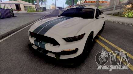 Ford Mustang Shelby GT350R (SA Lights) pour GTA San Andreas