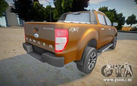 Ford Ranger Cabine Dupla Wildtrak 2016 pour GTA San Andreas