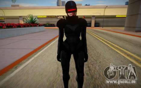 GTA V Female Robocop pour GTA San Andreas