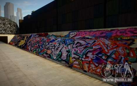 Los Angeles 90s Stormdrain Graffiti pour GTA San Andreas