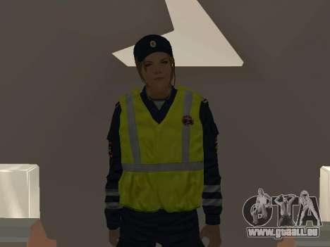Un employé du ministère de l'Intérieur avec un g pour GTA San Andreas