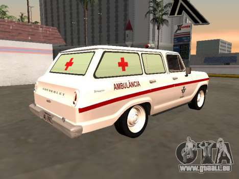 Chevrolet Veraneio 1973 INAMPS Ambulance pour GTA San Andreas