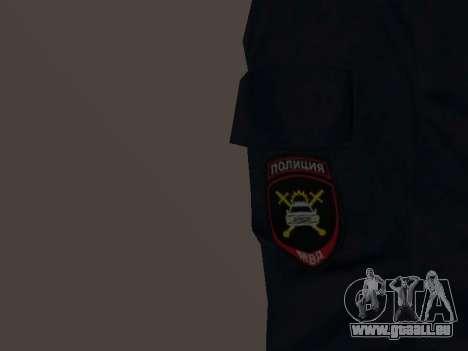 Un employé du ministère de l'Intérieur pour GTA San Andreas