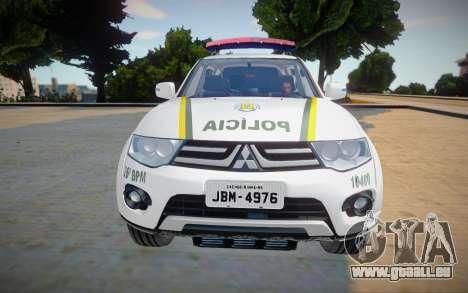 Mitsubishi Pajero BM pour GTA San Andreas