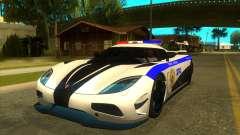 Police Koenigsegg Agera R