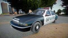 Chevrolet Caprice 1992 (SFPD) - Improved für GTA San Andreas
