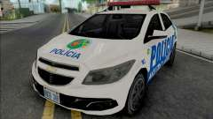 Chevrolet Onix PMGO pour GTA San Andreas