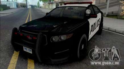 GTA V Vapid Interceptor [VehFuncs] pour GTA San Andreas