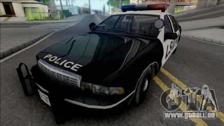 Chevrolet Caprice 1992 LSPD Improved pour GTA San Andreas