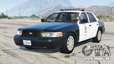 Ford Crown Victoria P71 Police Interceptor 2001〡LAPD [ELS] v4.6 pour GTA 5