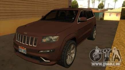 Jeep Grand Cherokee SRT 2012 pour GTA San Andreas
