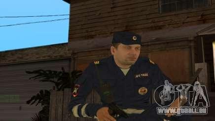 Sergent de peau DPS pour GTA San Andreas