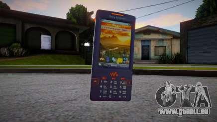 Sony Ericsson W950i für GTA San Andreas