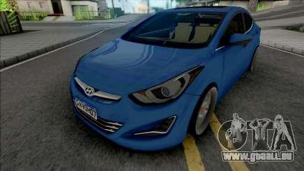 Hyundai Elantra Edit pour GTA San Andreas