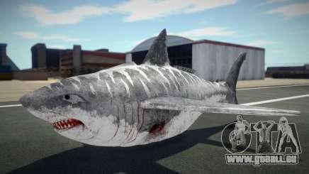 Shark Plane pour GTA San Andreas