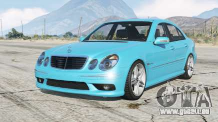 Mercedes-Benz E 55 AMG (W211) 2002 v1.2〡add-on pour GTA 5