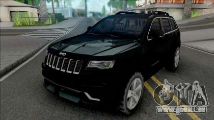 Jeep Grand Cherokee SRT 2014 Improved pour GTA San Andreas