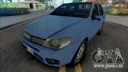 Fiat Siena HLX 2007 SA Style pour GTA San Andreas