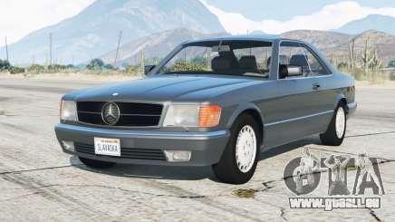 Mercedes-Benz 560 SEC (C126) 1986〡add-on pour GTA 5