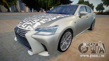 Lexus GS-F New pour GTA San Andreas