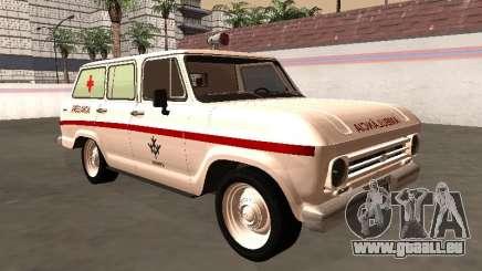 Chevrolet Veraneio 1973 INAMPS Krankenwagen für GTA San Andreas