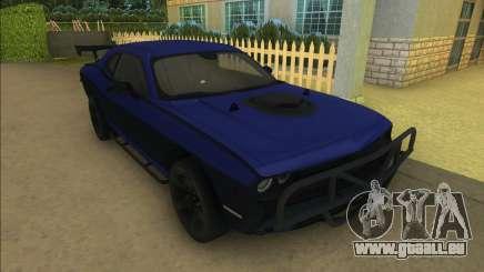 Lettys Dodge Challenger SRT pour GTA Vice City