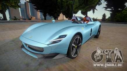 Ferrari Monza SP2 2020 pour GTA San Andreas