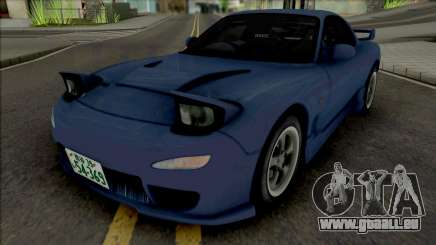 Mazda RX-7 FD3s Initial D 4th Stage Iwase Kyoko pour GTA San Andreas