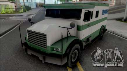 Brute Stockade SA Style Improved pour GTA San Andreas