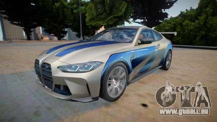 2021 BMW M4 GTR pour GTA San Andreas