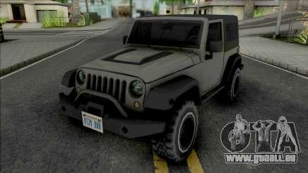 Jeep Wrangler Improved pour GTA San Andreas