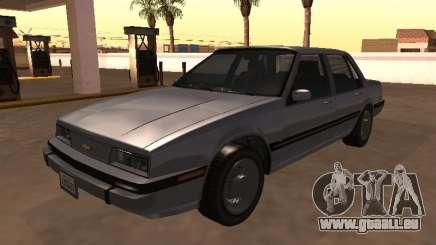 Berline Chevrolet Cavalier 1988 pour GTA San Andreas