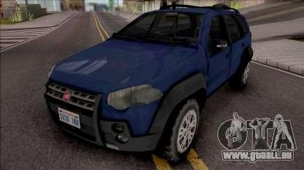 Fiat Palio Weekend Adventure 2013 für GTA San Andreas