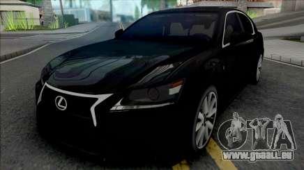 Lexus GS350 Black pour GTA San Andreas