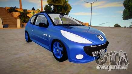 Peugeot 207 Quicksilver pour GTA San Andreas
