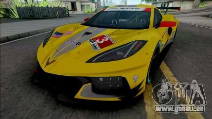 Chevrolet Corvette C8.R [HQ] pour GTA San Andreas