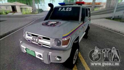 Toyota Land Cruiser FJ76 F.A.ES CPNB pour GTA San Andreas