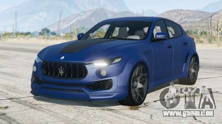 Maserati Levante Novitec Tridente Esteso (M161) 2017〡add-on pour GTA 5