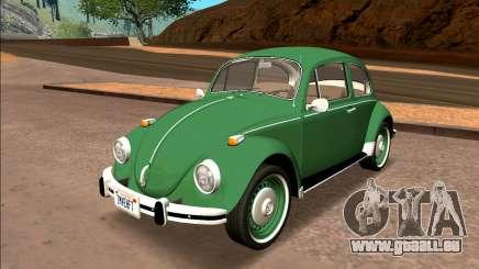 Volkswagen Beetle (Fuscao) 1500 1974 - Brésil pour GTA San Andreas