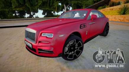 Rolls-Royce Wraith 2019 pour GTA San Andreas