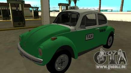 Volkswagen Beetle 1994 Taxi du Mexique pour GTA San Andreas