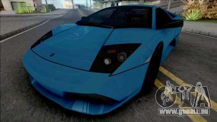 Lamborghini Murcielago LP640 Blue pour GTA San Andreas