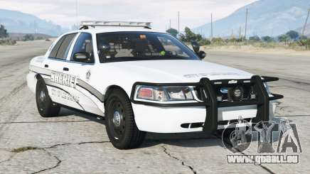 Ford Crown Victoria P71 Police Interceptor 2011〡Sheriff K-9 Unit [ELS]〡blue & lumières d'urgence bleues pour GTA 5